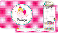 Pixie Princess Dry Erase Placemat