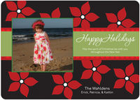 Festive Poinsettia Card