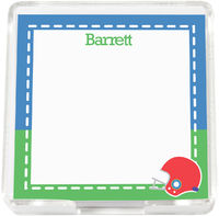 Football Mini Memo Sheets