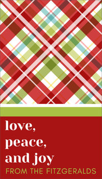 Christmas Wrapping Holiday Gift Sticker