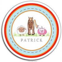Down on the Farm Plate PLT-827