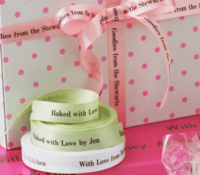 "5/8"" Satin Personalized Ribbons"