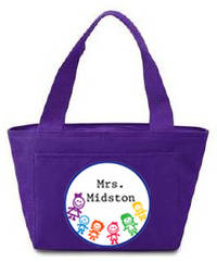 Colorful Kids Insulated Tote