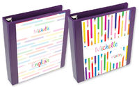 Color Pencils Binder Insert Set