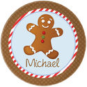 Gingerbread Plate Boy