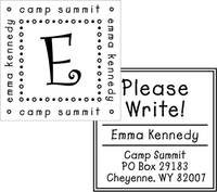 Custom Stamp CS Camper Set