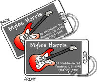 Guitar Luggage Tags LT803