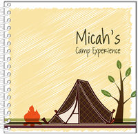 Camp Tent Journal | Notebook