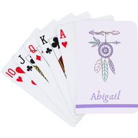 Boho Camp Playing Cards