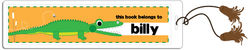 Alligator Chomp Bookmark
