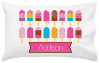 Bright Popsicles Pillowcase