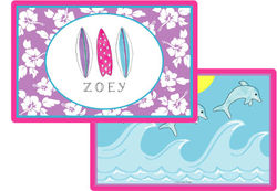 Surfer Girl Placemat P-847