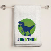 Dino Bath Towel