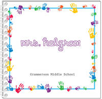 Colorful Hands Journal | Notebook