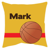 Basketball Autograph Camp Pillow