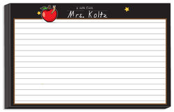 Apple for Teacher Bulky Notepad