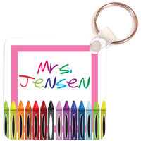 Crayons Key Chain