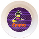 Broomstick Witch Bowl