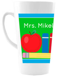 Dotted Apple Ceramic Coffee Mug