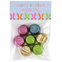 Easter Bunnies Candy Bag Toppers