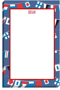 Nautical Flags Notepad