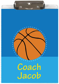 Basketball Coach Acrylic Clipboard