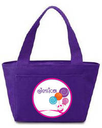 Lollipop Fun Insulated Lunch Tote
