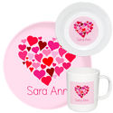 Heart Of Hearts Melamine Set