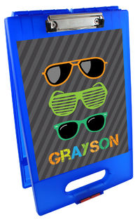 Cool Shades Clipboard Storage Case