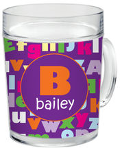 ABC Girl Clear Acrylic Mug