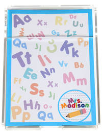 Crazy Alphabet Memo Sheets