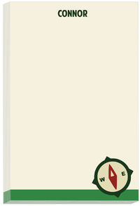 Camp Compass Note Pad