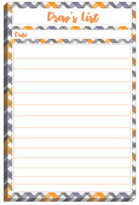 Tilted Pattern List Pad