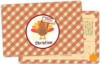 Turkey Day Dry Erase Placemat
