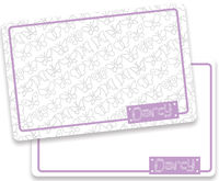 Butterflies Dry Erase Placemat