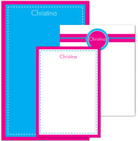 Fuchsia Blue Pad Set