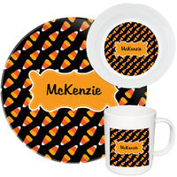 Candy Corn Melamine Set