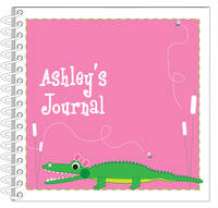 Girly Alligator Chomp Journal | Notebook