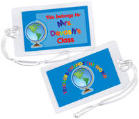 Teachers Change the World Luggage Tag