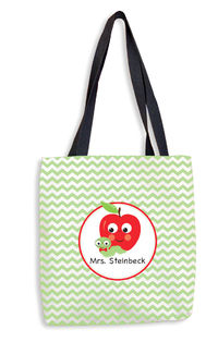 Apple Chevron II Tote Bag