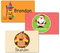 Holiday Dry Erase Placemat Set