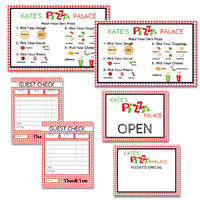 Pretend Play Pizza Shop