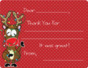 Tangled Reindeer Fill-in Card