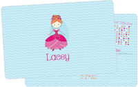 Flower Princess Dry Erase Placemat