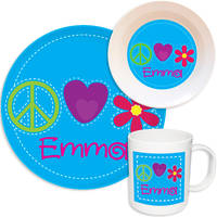 Bright Stitches Melamine Set