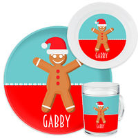 Ginger Santa Dinnerware Set