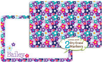 Cheerful Flowers Dry Erase Placemat
