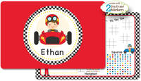 Little Racer Dry Erase Placemat