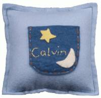 Moon and Stars Tooth Fairy Pillow