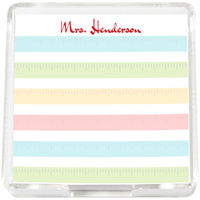 Colorful Rulers Mini Memo Sheets